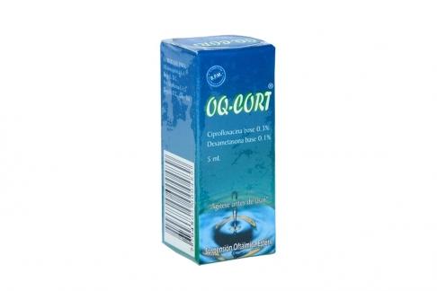 Oq Cort  0.3% / 0.1% Caja Con Suspensión X 5 mL Rx2