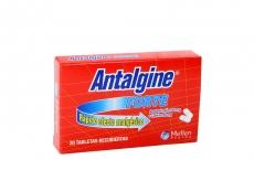 Antalgine Forte 500 / 50 mg Caja Con 20 Tabletas Recubiertas