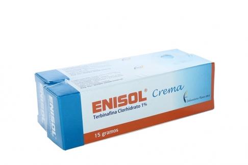 Enisol Crema 0.1% Caja Con Tubo Con 15 g