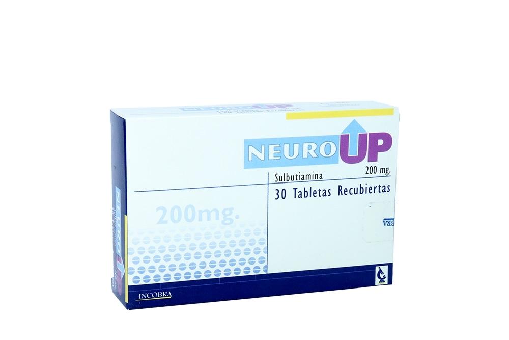 Neuro UP 200 mg Caja Con 30 Tabletas Recubiertas Rx4