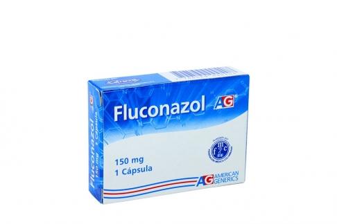 Fluconazol AG 150 mg Caja Con 1 Cápsula Rx