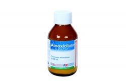 Amoxicilina Suspensión 250 mg / 5 mL Frasco Con 100 mL Rx2