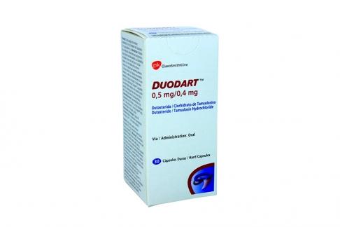 Duodart 0.5 / 0.4 mg Caja Con 30 Cápsulas Rx4