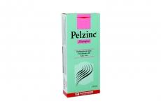 Pelzinc Shampoo Caja Con Frasco Con 120 mL