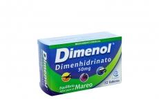 Dimenol 50 mg Caja Con 72 Tabletas