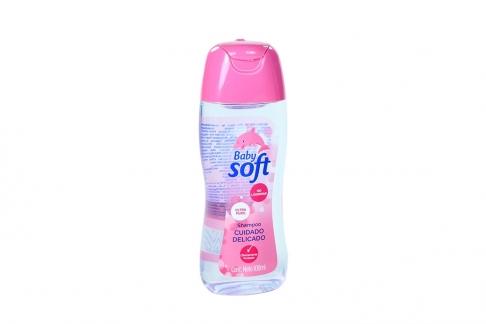 Shampoo Baby Soft Cuidado Delicado Frasco Con 100 mL