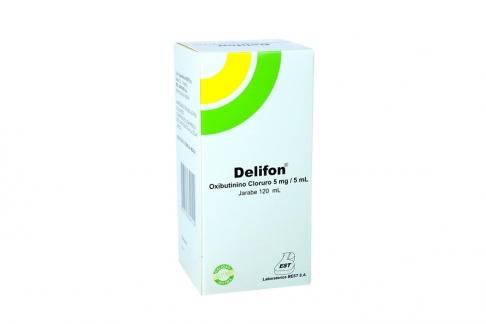 Delifon Jarabe Caja Con Frasco X 120 mL Rx