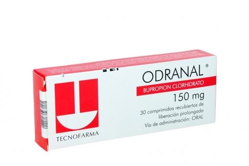Odranal 150 mg Caja Con 30 Comprimidos Recubiertos de Liberación Prolongada Rx4 Rx1