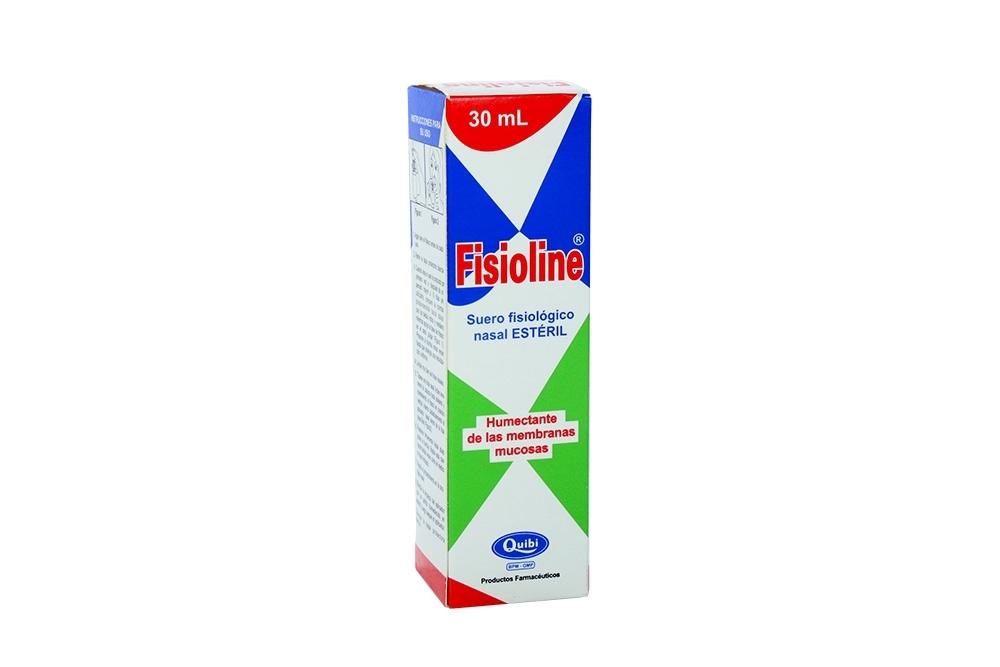 Fisioline Suero Fisiológico Nasal Caja Con Frasco Con 30 mL
