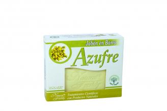 Jabón De Azufre Caja Con 1 Unidad Con 90 g