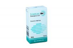 Lumigan RC 0.01 % Caja Con Frasco Con 3 mL- Solución Oftálmica Rx