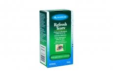 Refresh Tears Solución Caja Con Frasco X 15 mL