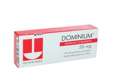 Dominium 50 mg Caja Con 20 Comprimidos Recubiertos Rx4