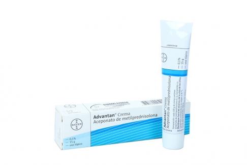 Advantan Crema 0.1 % Caja Con Tubo Con 15 g Rx