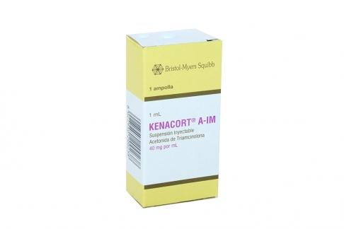 Kenacort A I.M. 40 mg/ mL Suspensión Caja X 1 Ampolla RX