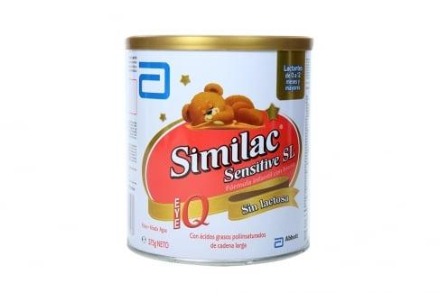 Similac IQ Sensitive SL Tarro Con 375 g - Sin Lactosa