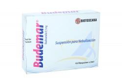 Budemar Suspensión Para Nebulización 0.5 mg Caja Con 10 Rèspulas De 2 mL Rx4