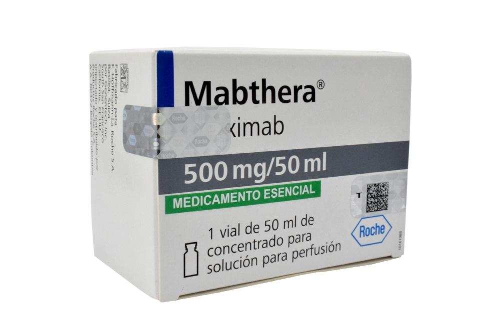 Mabthera 500 mg / 50 mL Concentrado De Solución Para Perfusión Caja Con 1 Vial Con 50 mL Rx1 Rx3 Rx4