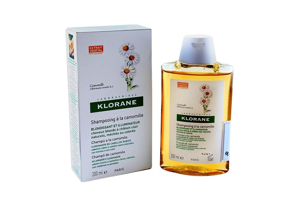 KLORANE SHAMPOO DE MANZANILLA FRASCO X 200 ML