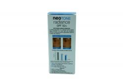 Neotone Radiance SPF 50+ En Gel Caja Con Frasco Con 30 mL