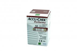 Accu Chek Performa Caja Con 50 Tiras -  Glucosa