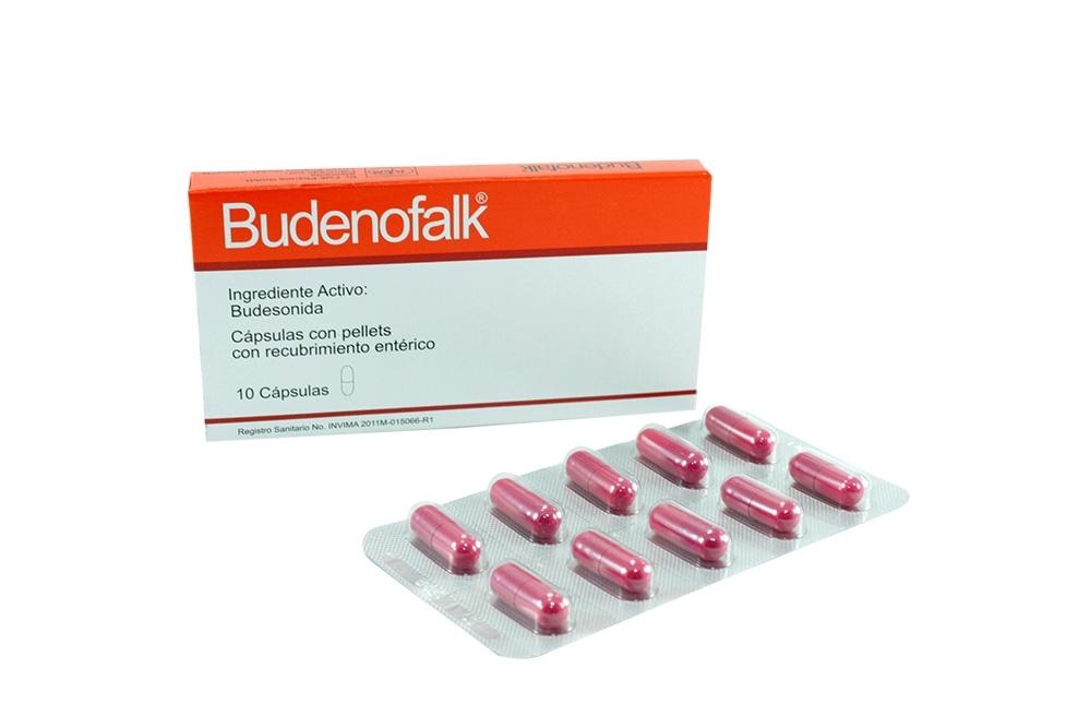 Budenofalk 3 mg Caja Con 10 Cápsulas Duras Rx4