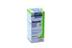 Humulin N 100 U.I Frasco Vial De 10 mL Suspensión Rx3 Rx1 Rx4