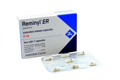 Reminyl ER 8 mg Caja Con 7 Cápsulas Rx1