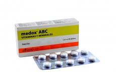 MEDOX ABC CAJA X 30 TABLETAS RX