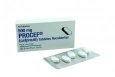 Procef 500 mg Caja Con 10 Tabletas Rx2