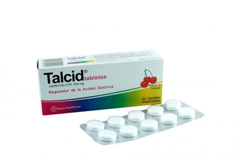 TALCID 500 MG X 50 TABLETAS