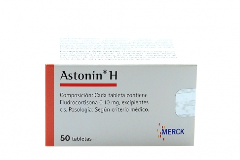 Astonin H 0.1 mg Caja Con 50 Tabletas Rx4