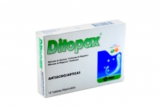 Ditopax 282 / 85 / 25 mg Caja Con 10 Tabletas Masticables