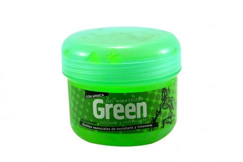 Gel Mentolado Green Pote Con 450g