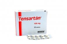 Tensartán 100 mg Caja Con 30 Tabletas Rx4