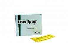 Lowlipen 20 mg Caja Con 10 Tabletas Rx