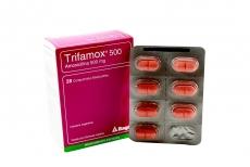 Trifamox 500 mg Caja Con 28 Comprimidos Masticables Rx2