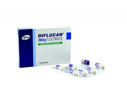 Diflucan 200 mg Caja Con 7 Cápsulas Rx4