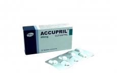 Accupril 40 mg Caja Con 28 Tabletas Recubiertas Rx4
