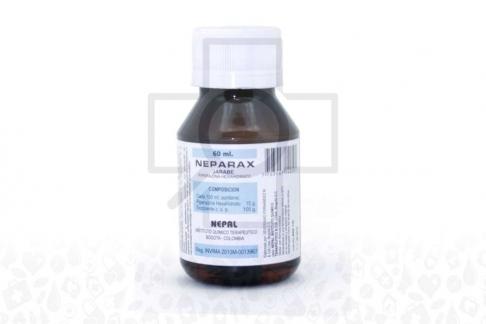 Neparax Jarabe 15 / 100 g Frasco Con 60 mL Rx