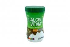 Calcio Vitam Caja Con Frasco x 300 g Sabor A Chocolate