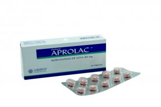 Aprolac 80 mg Caja Con 30 Tabletas Rx