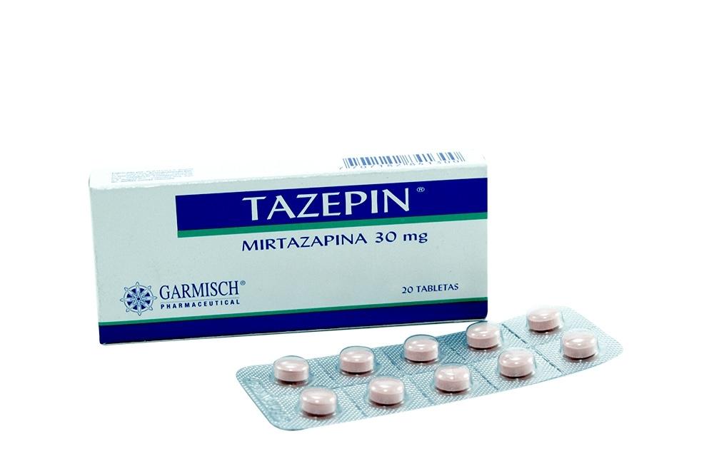 Tazepin 30 mg Caja X 20 Tabletas