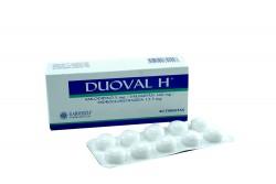 Duoval H 5 / 160 / 12.5 mg Caja Con 30 Tabletas Rx4