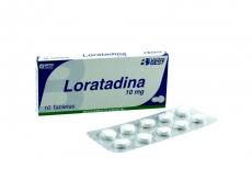 Loratadina 10 mg Best Caja Con 10 Tabletas Rx