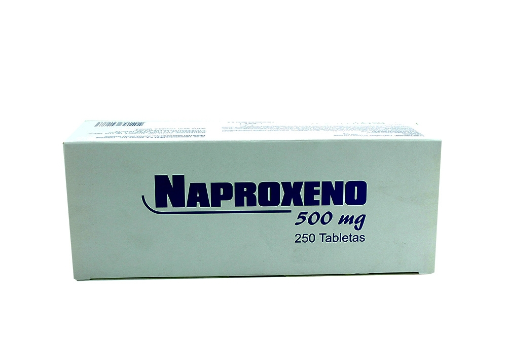 Naproxeno 500 Mg Caja X 250 Tabletas RX