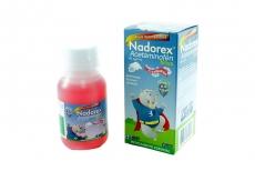 Nadorex Niños 150 mg Jarabe Sabor A Frambuesa Frasco x 90 mL