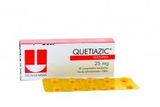 Quetiazic 25 mg Caja Con 30 Comprimidos Recubiertos Rx4