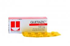 Quetiazic 100 mg Caja Con 30 Comprimidos Recubiertos Rx4
