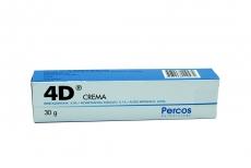 4D Crema Caja Con Tubo Con 30 g Rx